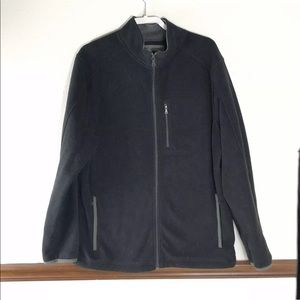 Men's St John's Bay fleece jacket size LT Tall